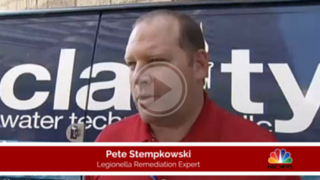 NYC Legionella Prevention Expert Pete Stempkowski speaks about cooling tower cleaning services.