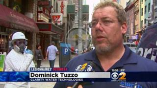 Legionella Prevention Expert Dominick Tuzzo's Interview with CBS2 Reporter Tony Aiello