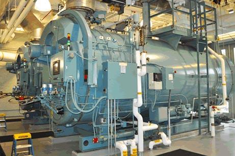 Boiler water system